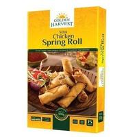 Golden Harvest Mini Chicken Spring Roll 300g- 15pcs