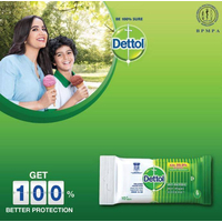 Dettol Anti-bacterial Wet Wipes Family Pack