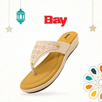 Bay Ladies Open Heel Shoe